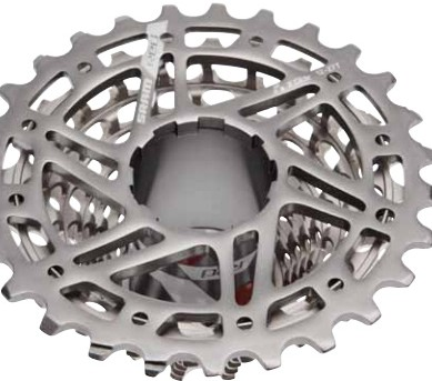 SRAM X-Glide XG 1090 CX cyclocross cassette aims to help serious racers shed grams and mud.