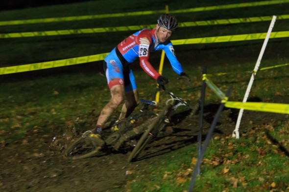 Cincy3 CX Festival Day Two Greg Wittwer Bobs Red Mill Loses It. © Kent  Baumgardt