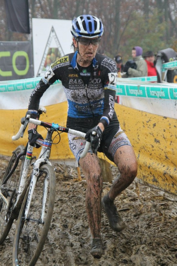 A little muddy at Gavere. © Bram van Lent