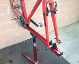 Compact design but plenty of strength with the Feedback Sprint stand.