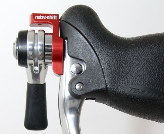 Retroshift: A simple shifter and brake lever combo for reliable performance in mud, and after crashes.  Cyclocross Magazine