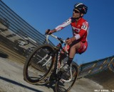 Justin Lindine at USGP Derby City Cup Day 1. © Cyclocross Magazine