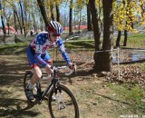 Logan Owen establishes a gap. © Cyclocross Magazine
