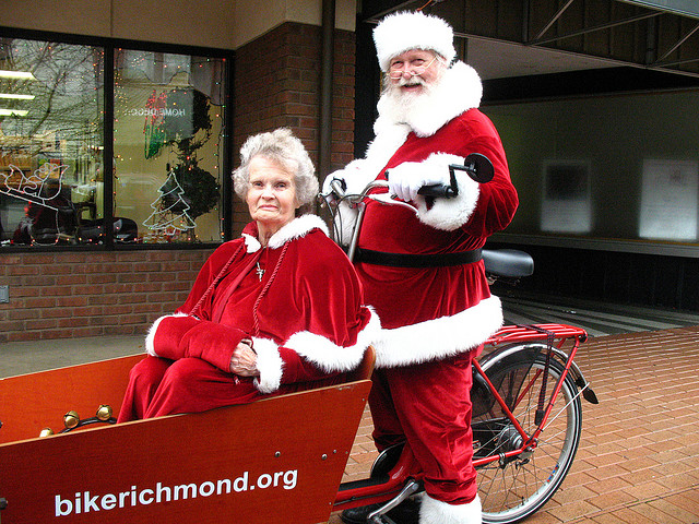 Cycling Santa to deliver the perfect gift for cyclists