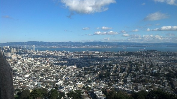 View from Twin Peaks. © Molly Hurford