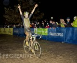 Driscoll takes the win at Cross After Dark. © Phil Beckman/PB Creative