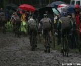 Today's race gave true 'cross conditions © Bart Hazen