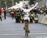 Marianne Vos has returned to cyclocross with her win today at World Cup Zolder © Bart Hazen