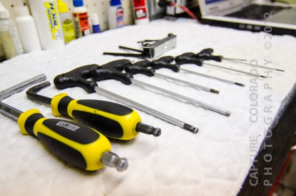 Don't skimp on Allen and Torx wrench sets. © Chandler Snyder