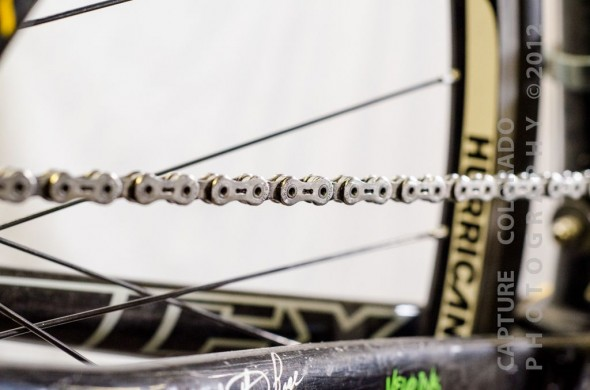 "A bright and shiny ""new"" chain. © Colorado Capture"