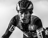 Zach McDonald's pain face at the 2013 Cyclocross National Championships. © Chris Schmidt