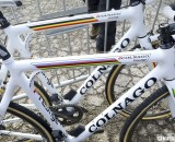 Niels Albert's Colnago Cross Prestige in front of BKCP teammate Wietse Bosmans' own Prestige bike. © Cyclocross Magazine