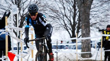 Matt Schriver worked his way through the field to take the Men 30-34 National Title © Cyclocross Magazine