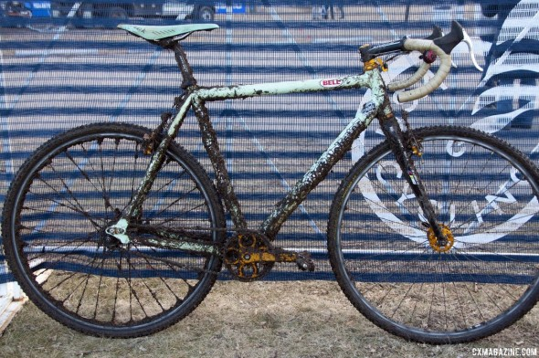 Aaron Bradford's 2012 Singlespeed National Championship-winning Rock Lobster © Cyclocross Magazine