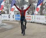 Downs takes the 55-59 win at 2013 Nationals. © Cyclocross Magazine