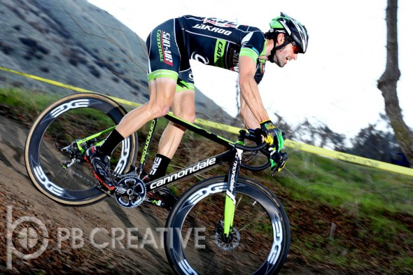 Eric Bostrom (Sho-Air/Cannondale) was a strong third in Men's Elite and the top So Cal rider.  © Phil Beckman/PB Creative