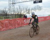 A tired Laird taking the win. © Cyclocross Magazine