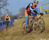 Page in his DIY National Champion kit at Kings CX. © Cyclocross Magazine