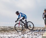 Kevin McConnell leading Thomas Turner © Cyclocross Magazine