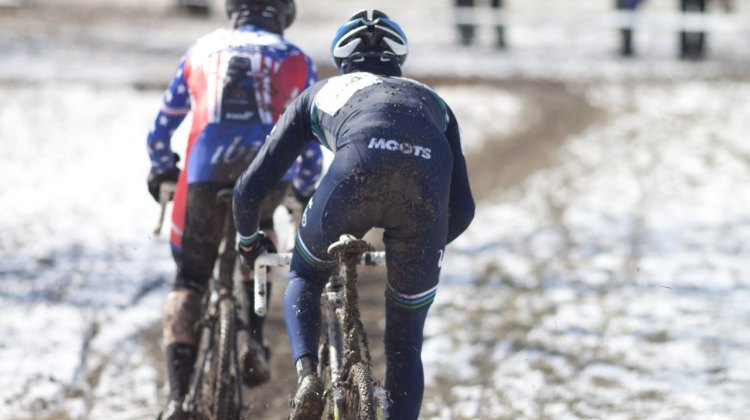 Myrah and Cariveau battled it out for most of the race © Cyclocross Magazine