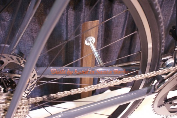 Stinner Frameworks bikes are hand-made in Santa Barbara, California by Aaron Stinner  Greg Klingsporn