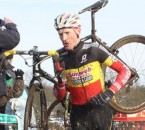 Klaas Vantornout, shown here at Hoogstraten, rode perfectly today for the win at Middelkerke © Bart Hazen