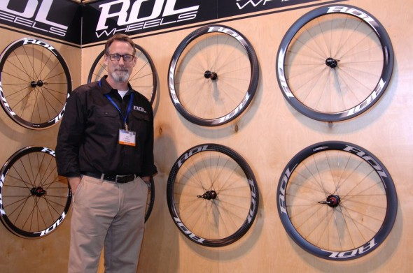 The selection of custom handbuilt wheels from Rol. NAHBS 2013 © Lance Barry