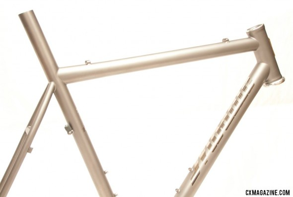 Mosaic's titanium disc brake XT-1 cyclocross frame won Best Cyclocross Bike at NAHBS 2013. ©Cyclocross Magazine