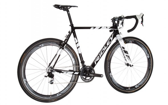 Ridley's flagship 2014 Cantilever Brake X-Night cyclocross bike. photo: courtesy