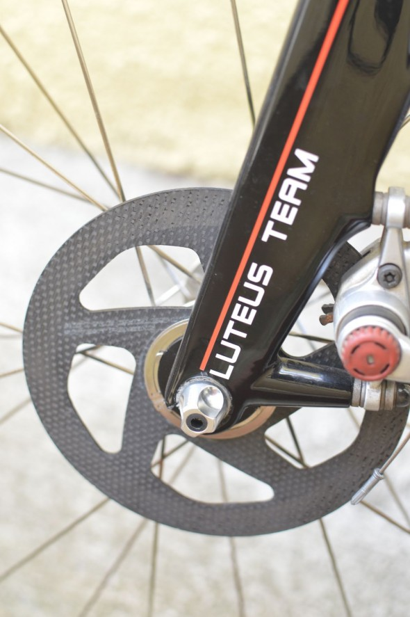 Kettle Cycles SFL SiCCC disc rotors. © Clifford Lee