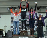 Mackenzie Woodring topped the women's podium at the Barry Roubaix. © Cyclocross Magazine