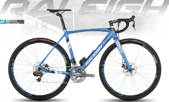 The new 2014 RXC Pro Disc: a half pound of weight savings over last year's model.