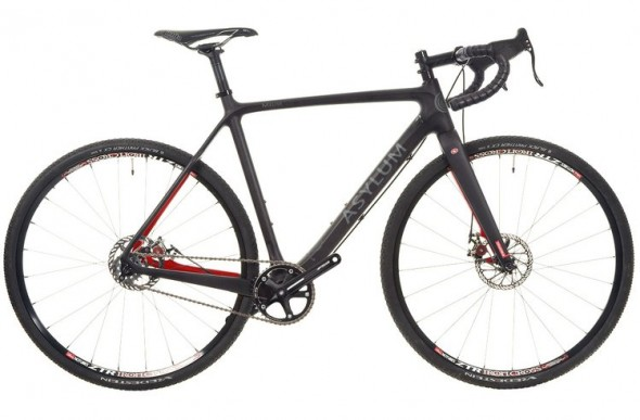 The Asylum Meuse singlespeed is one of the few carbon singlespeed cyclocross options available.
