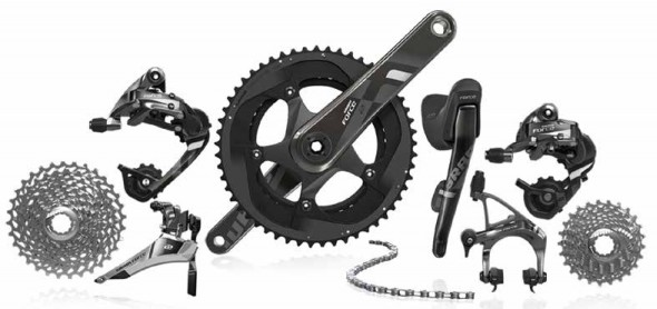 "For the rider on a ""budget,"" the SRAM Force 11 has the new cassette and upgrades from the 2012 version, but with a smaller price tag than the 2012."