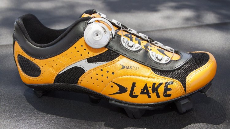 Lake Cycling's new 2014 MX331 cyclocross-specific shoe. © Cyclocross Magazine