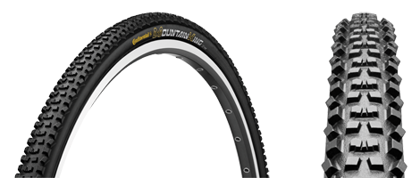 Continental is also releasing its new 32c Mountain King cyclocross clincher tire.
