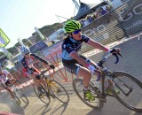 Mani leading Dyck and Duke at the 2013 Sea Otter Cyclocross race. © Cyclocross Magazine