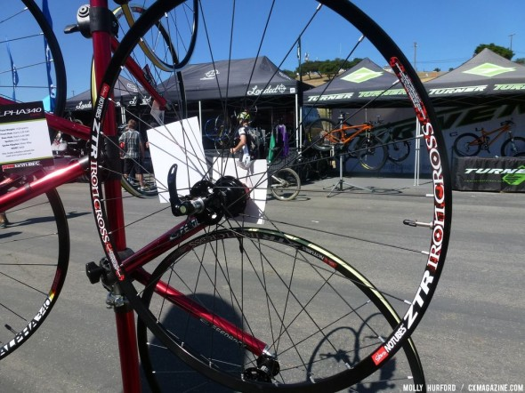 NoTubes Wheels at Sea Otter 2013 © Cyclocross Magazine