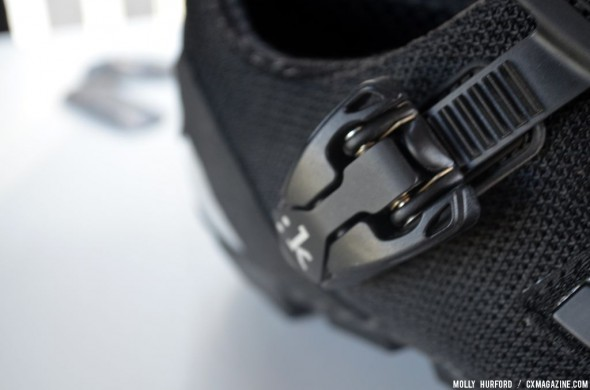 Micrometric shoe buckle on the M1 Uomo. © Cyclocross Magazine
