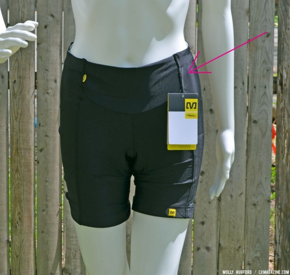 The paneling makes the Mavic Cloud shorts super comfortable. © Cyclocross Magazine
