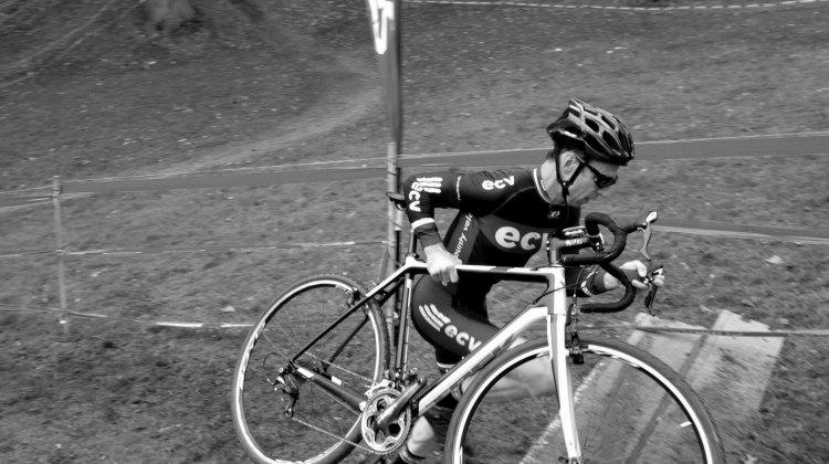 Paul Boudreau: racer and organizer. © Patrick Cochran