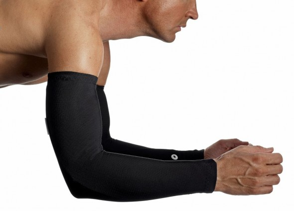 The Assos armwarmers. Photo courtesy of Assos
