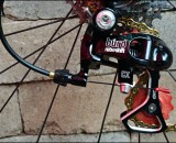 The new Retroshift BURD cyclocross rear derailleur. photo:courtesy