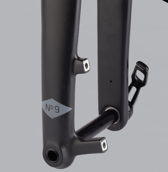 The Whisky No. 9 thru axle fork for cyclocross bikes.