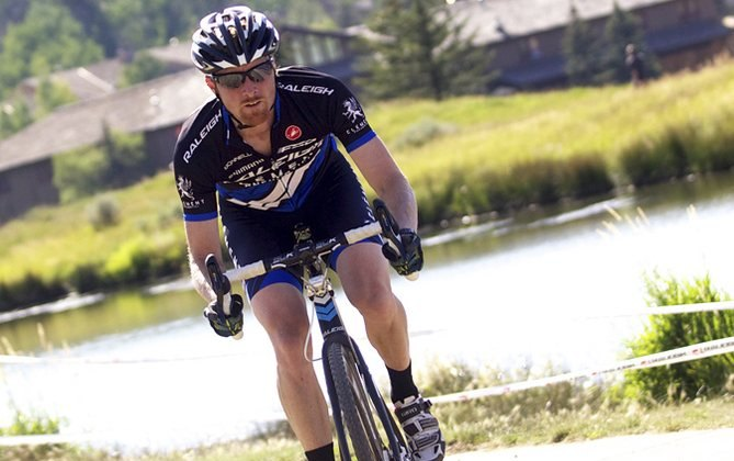 Craig Etheridge improved upon his third place last year to take the win in the singlespeed race. © Cathy Fegan-Kim