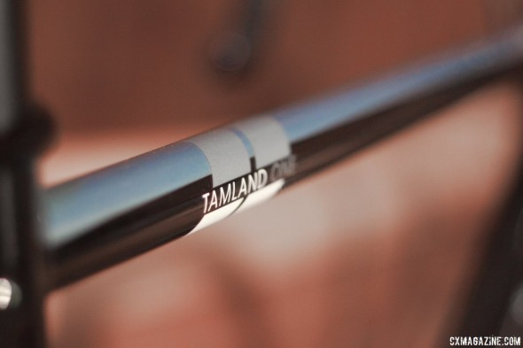 Raleigh uses Reynolds 631 air-hardened steel tubing on the Tamland 1 gravel bike. © Cyclocross Magazine
