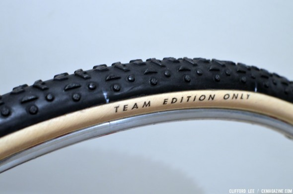 The new Challenge Grifo Team Edition with 320 tpi cotton casing. © Cyclocross Magazine