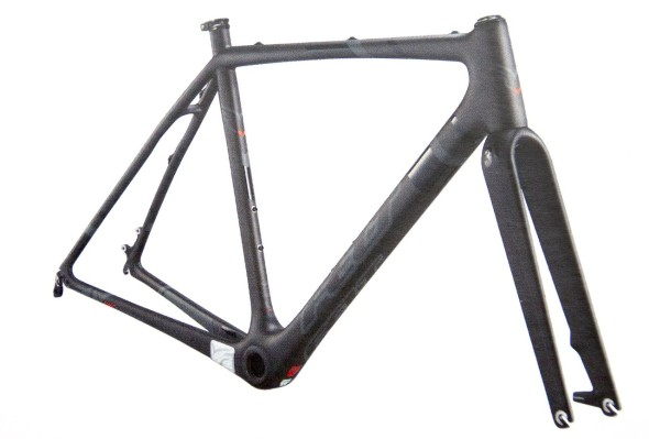 Felt 2014 F1x Carbon Cyclocross frameset. photo: courtesy