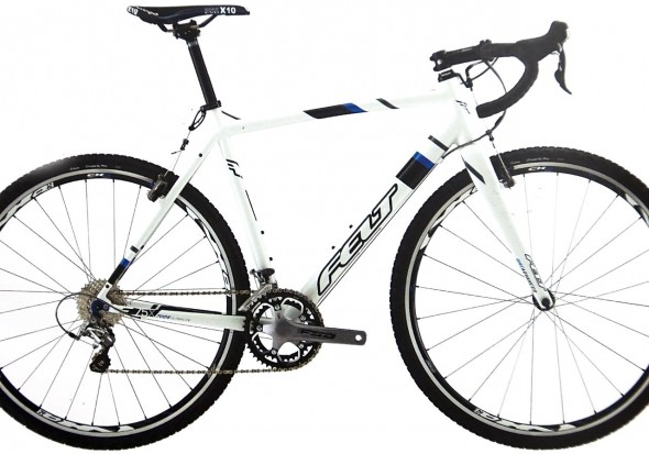 Felt 2014 F75x Aluminum Cyclocross Bike brings Shimano 105 to a $1349 complete bike. photo: courtesy