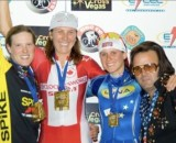 The 2007 CrossVegas podium.